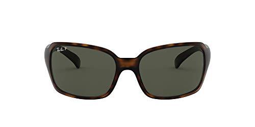 Ray-Ban RB 4068 Gafas de sol, Matte Havana, 60 para Mujer