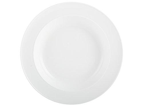 MIKASA, Porcelaine, Blanc, Soup Plate
