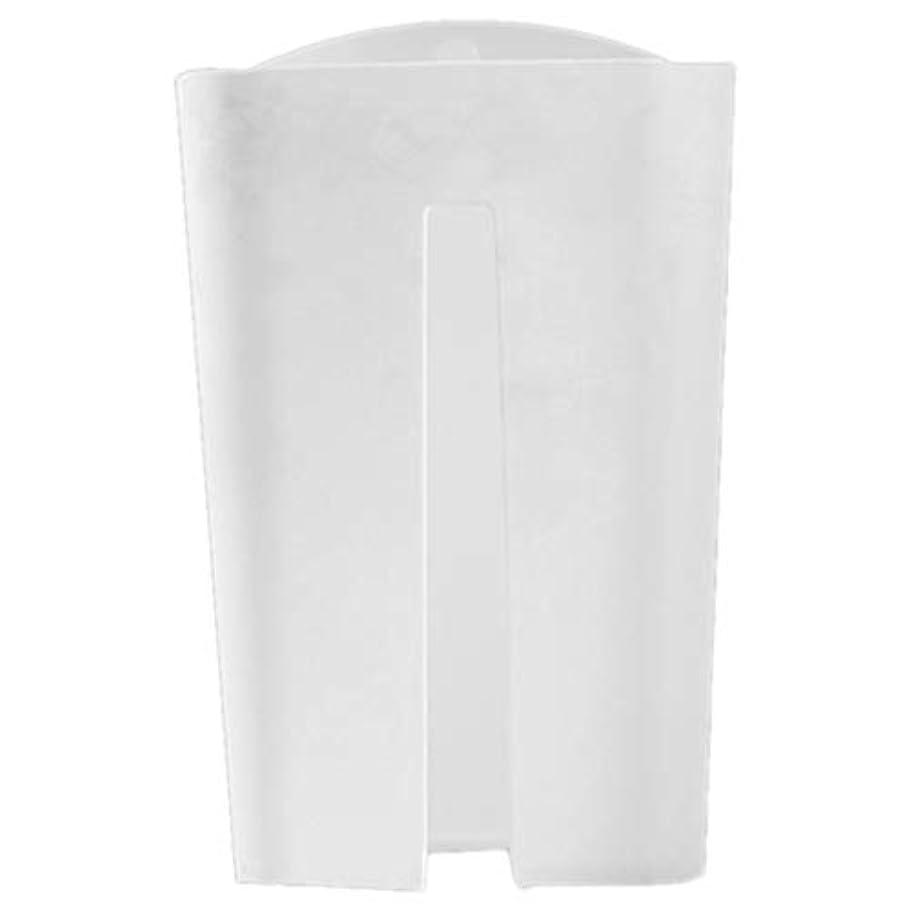 WOVELOT ゴミゴミ袋ディスペンサー壁掛けプラスチック収納ボックスオーガナイザーゴミ袋コレクションボックスハウスキーピングボックス、ホワイト