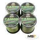 carp coarse camo fishing line 15 lbs