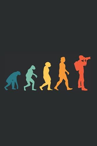 Fotograf Notizbuch: Fotograf Evolution...