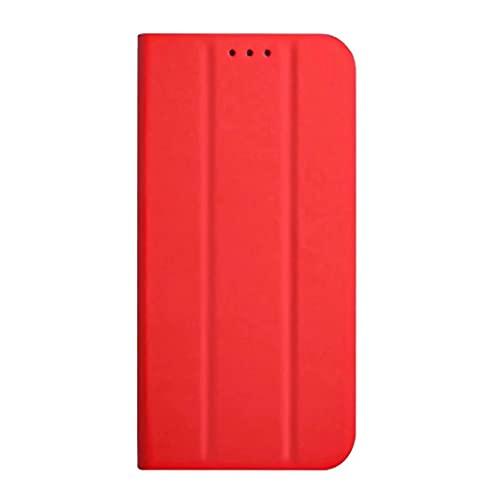 TUUNKMUY Funda para Samsung S20 Plus, funda de teléfono para Samsung Galaxy S20 Plus, a prueba de golpes, triple soporte, funda protectora de piel con tapa para Samsung Galaxy S20 Plus, color rojo