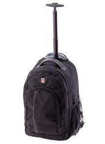 Trolley y mochila de cabina Trick Gladiator de 35 litros (Negro)