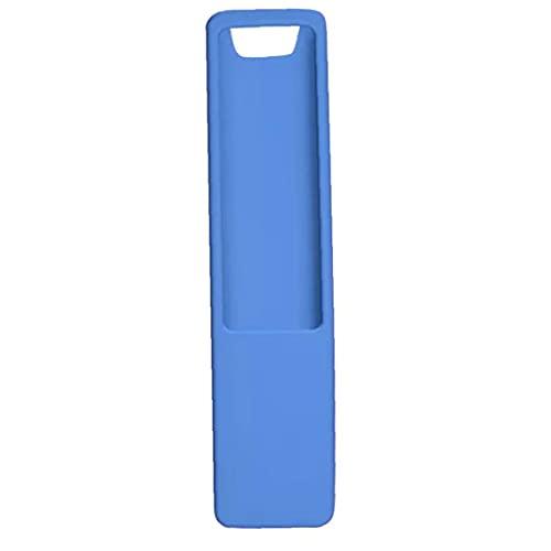 Jorzer Funda Remota De Tv De Silicona Compatible Con Samsung Bn59 Controlador De Tv Inteligente Luz Azul Resplandor, Bolso Y Cáscara