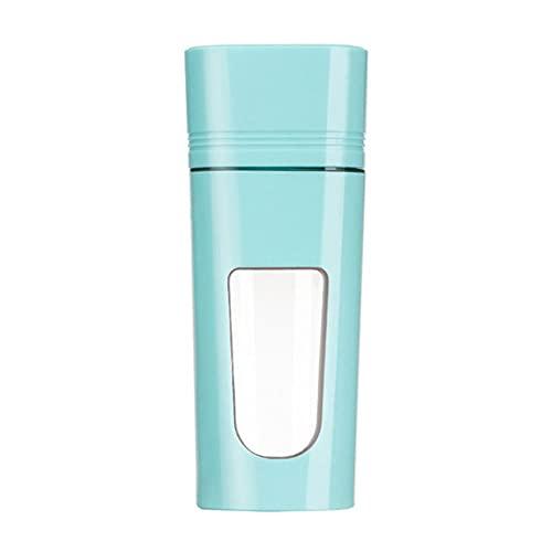 KELITE Portátil Juicer Electric USB Recargable Milkshake Blender Juicer Mini Juice Cup Machine Quick Blender Procesador de Alimentos (Color : Blue)