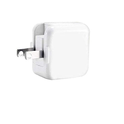 USB Wall Charger Block Compatible iPad iPod iPhones, 12W 2.4A Portable Charger Adapter Plug Compatible iPad 4 3 2 /Mini/Air 2 /Pro, iPhone 11 /X Xs Max XR /8/7 /6 6s Plus