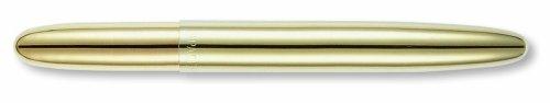 Fisher Bullet Pen weltberühmter Astronautenstift mit goldenem Titaniumnitrid-Lacküberzug