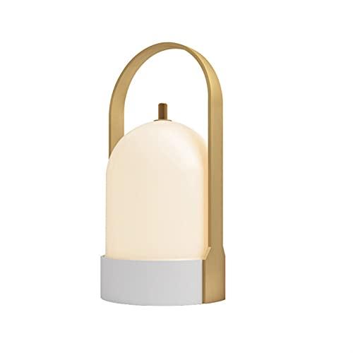 Electric oven Lampade da Tavolo Cordless, Comodino Portatile Touch dimmerabile GUIDATO Lampada,USB Lampada ad Atmosfera Ricaricabile per la Decorazione Domestica della Camera da Letto (Colore : A)