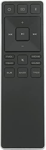 XRS551-D Replaced Remote fit for VIZIO SmartCast Sound bar SB3820-C6 SB4451-C0 SB4051-D5 SB3851-D0 SB4551-D5 SB3651-E6 SB4451C0 SB4051D5 SB3851D0 SB4551D5 SB3651E6 SB2821-D6 SB2821-D6B SB3621n-E8