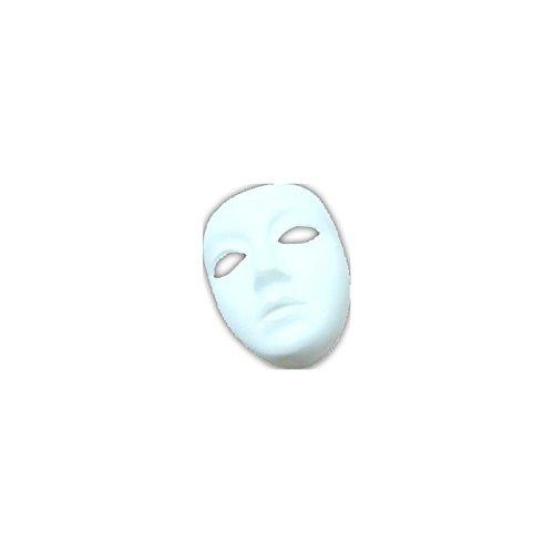 Masque - Couleur : Blanc Plastique A Decorer Sans Front Qs Femme