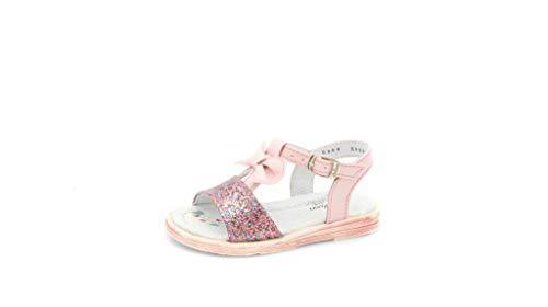 Sandalias para Niña en Color Rosa Nacar con Brillos COLOSO (ROSA NACAR, 12)