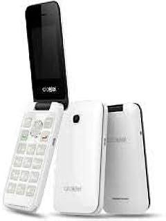 Celular Alcatel 2051d Flip Tela E Números Grandes P/Idosos Branco