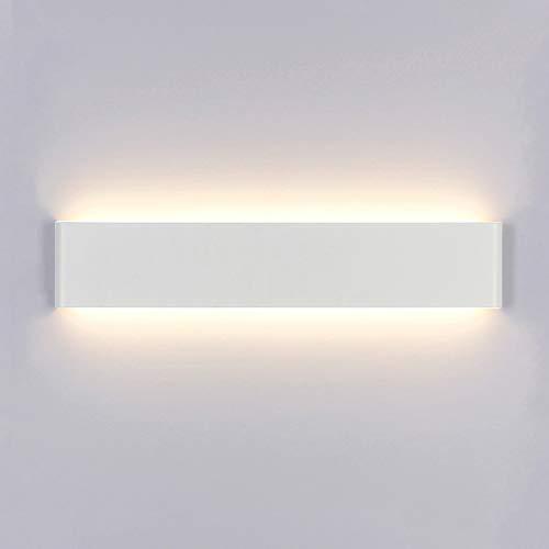 Yafido Aplique Pared Interior LED 14W Lámpara de pared Moderna Blanco Cálido Perfecto para Salon Dormitorio Sala Pasillo Escalera