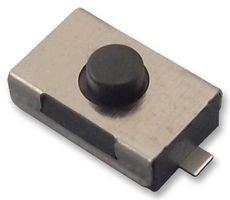 Wurth Elektronik Switch, 160GF, 6X3.8X2.5MM, BLK, SMD 434121025816 Pack of 5