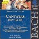Sacred Cantatas Bwv 165-168 by JOHANN SEBASTIAN BACH (2000-07-25)