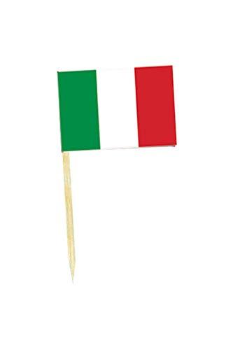 50 mini drapeaux ITALIE