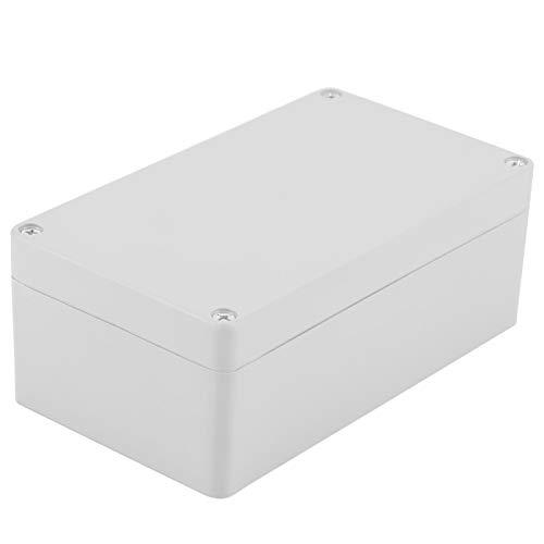 Caja de Conexiones Impermeable a Prueba de Polvo IP65 Caja de Conexiones de plástico ABS Cajas eléctricas universales Recinto del Proyecto Gris(158 * 90 * 60mm)