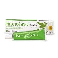 InfectoGingi Mungel Spar-Set 3x6g. Bei ENtzündungen und Wunden im Mundbereich. Wirkt schmerzlindernd und heilend. Mit Salbei und Kamille.