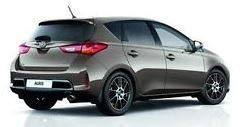 Toyota 53008-02010 Lot complet de 4 garde-boue avant et arrière pour Toyota Auris/Hybrid