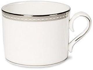 Lenox Murray Hill Platinum Banded Bone China Cup door Lenox