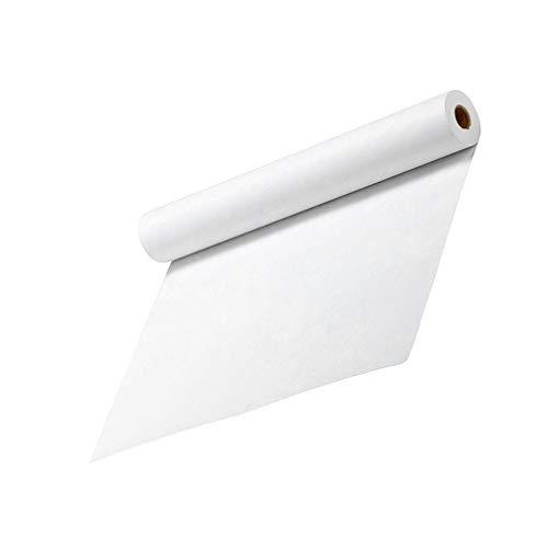Tomaibaby Rotolo di Carta Kraft Bianca Carta Riciclata Arti E Mestieri Rotolo di Carta Rotolo di Carta da Disegno Bacheca di Carta Poster di Carta Carta da Disegno per Bambini Studenti
