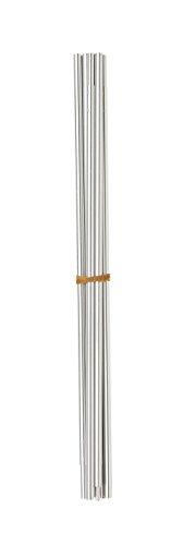 Ferrino Paleria vervangingspalen voor gordijn, complete boog grijs, 9,5 cm