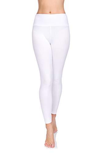 Softsail - Leggings cintura alta mujer control barriga