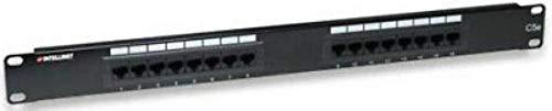 16 Port CAT5e RackMount Patch Panel Intellinet 513548 Nowak Technology