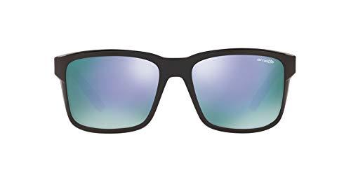 Ray-Ban Herren 0AN4218 Sonnenbrille, Braun (Black), 57.0