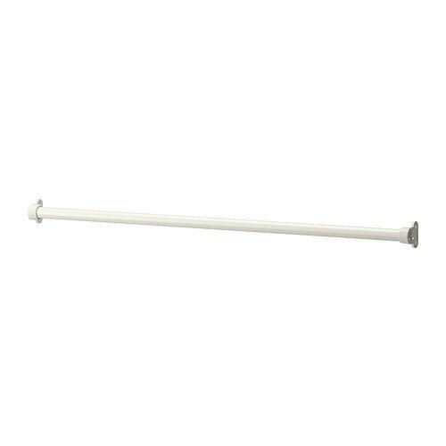 IKEA KOMPLEMENT - Kleiderstange, weiß - 95 cm
