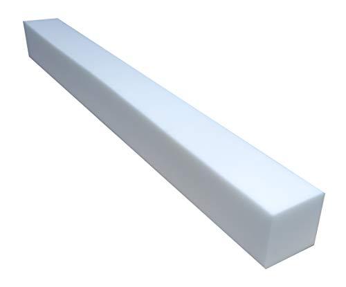 all4all Matratzenverlängerung aus Schaumstoff Matratzenausgleich RG 25/44 10x15cm Schaumstoffstreifen Mittellhart (80)