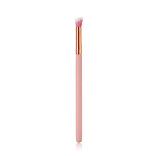 Maquillage simple brosse synthétique cheveux outil de maquillage des yeux (Handle Color : 1pcs 0428XXT)