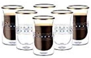 Blackstone Estikana cups 6 pcs 100ml Set طقم استكانات بلاكستون بيالات استكانة بيالة (Blue)
