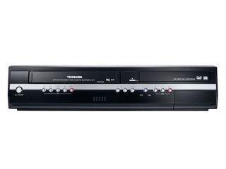 Toshiba D VR 50 KTF DVD-Rekorder/ VHS-Rekorder Kombination (DivX-Zertifiziert) schwarz