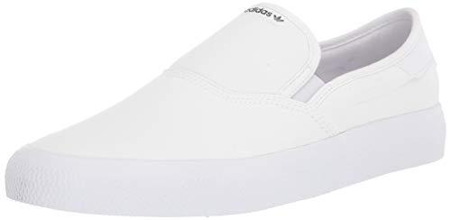 adidas Originals Zapatillas deportivas para hombre 3mc Slip, blanco (blanco/blanco/negro ), 39 EU