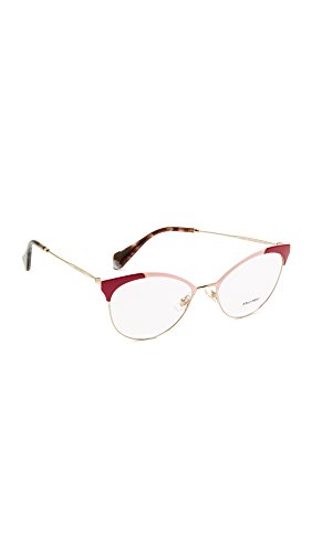 Miu Miu Damen 0MU 50PV Sonnenbrille, Usp1o1, 54