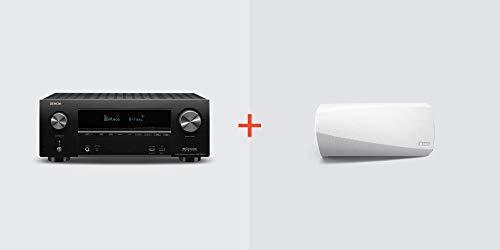 Find Cheap Denon AVR-X2600H Receiver + HEOS 3 Wireless Speaker (White) Bundle