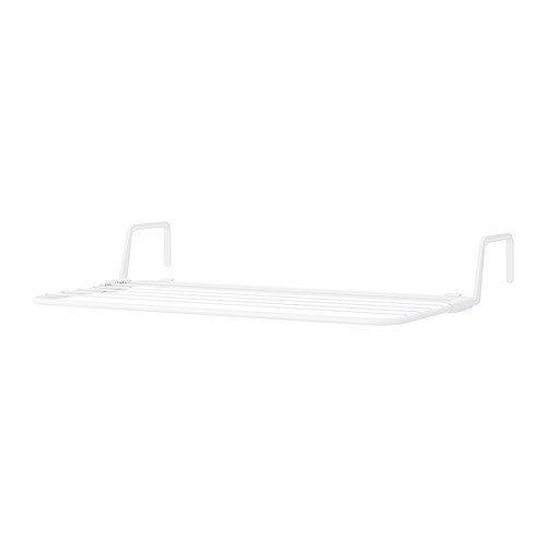 IKEA ANTONIUS -Wäscheständer weiß - 77x40 -49 cm