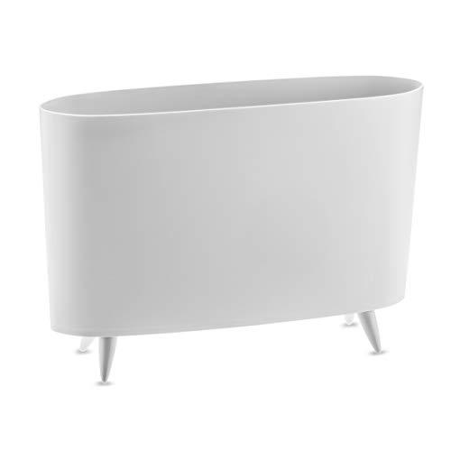 Koziol Milano Soft Grey Revistero, Plástico termoplástico, 120x457x315 mm