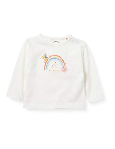 s.Oliver Junior 405.10.102.12.130.2057915 T-Shirt, Ecru, 92 Bimba