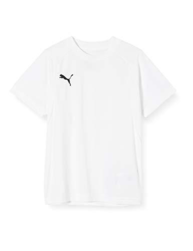 Puma Kinder LIGA Training Jersey Jr T-shirt, White Black, 140
