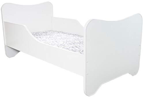 Peuterbed Top Beds Happy 140x70 Wit Inclusief Matras