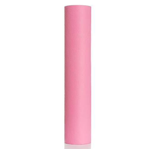 50Pcs/Roll Waterproof Beauty SPA Massage Disposable Bed Sheets 50x70cm Table Cover Non Woven Pillow Towel(pink)