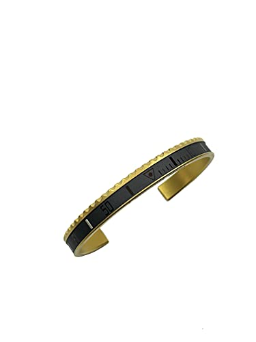 Speedometer official Pulsera Ghost (Black, PVD Gold Color)