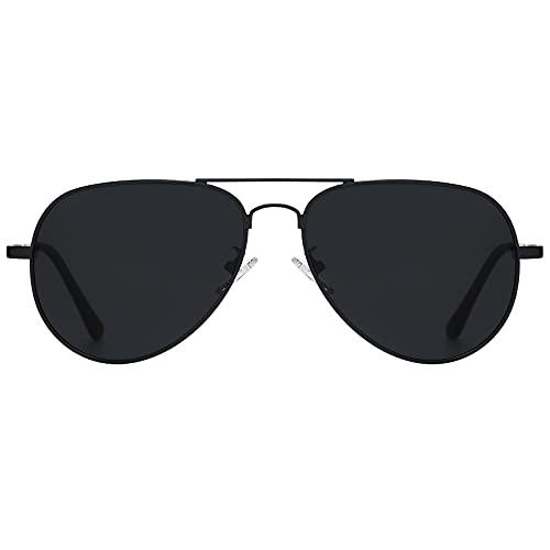 H HELMUT JUST Gafas De Sol para Hombre Mujer Aviador Polarizadas Espejo Para Conducir Viajes HJ1302