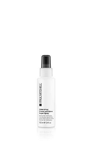 Paul Mitchell Freeze and Shine Super Spray - professionelles Haar-Spray für maximalen Halt, Finishing-Spray fixiert jedes Styling, 100 ml