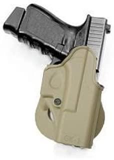 Glock 17 / Glock 19 / Glock 22 / Glock 23/ Glock 26 / Glock27 / Glock 31 / Glock 32 Polymer Gun Holster (Right Hand) Desert Tan