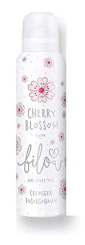 bilou Cherry Blossom limited Edition Duschschaum 200ml - Duft bilou Cherry Blossom duftet nach zarter Kirschblüte und mildem Frühlingswind. einfach zum Verlieben!
