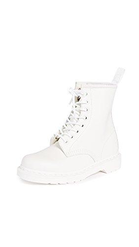 Dr. Martens Core 1460 Mono Smooth, Unisex-Erwachsene Stiefel, Elfenbein (Bianco), 38 EU (5 UK)