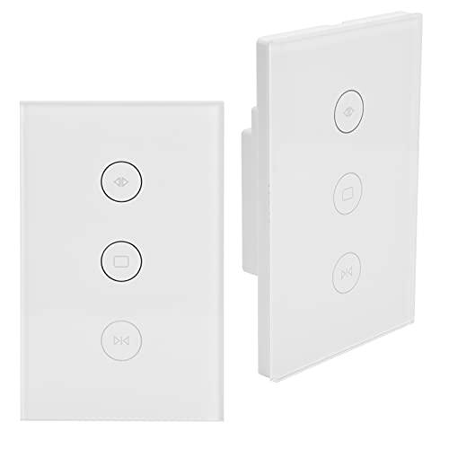 Interruptor De Cortina WiFi, Interruptor De Cortina De Control Remoto De Sincronización Con Función De Sincronización Para Oficinas Para Cortina De Ventana
